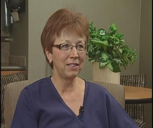 Veteran NICU nurse Judy Mauritz has worked in the NICU 36 years
