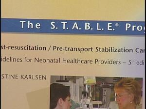 STABLE resources are put in outlying hospitals for staff.