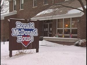The Ronald McDonald House is located  next to St. Joseph's Children's Hospital
