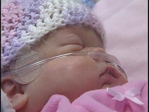 Madeline Martineau passed away in the NICU