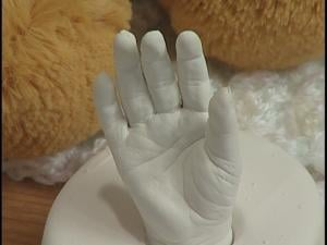 Families can have hand molds made of their loved one