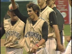 Bobby Pritchett threw a no-hitter for the Woodchucks this year