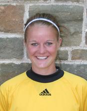 Goalkeeper Liz Hunter (Stevens Point) tallied six saves