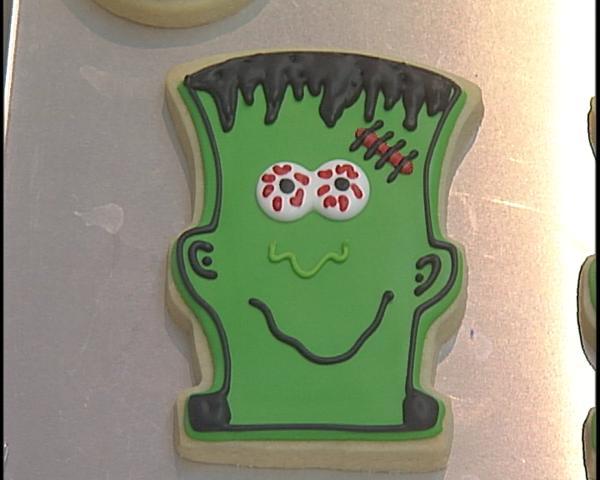 Frankenstein.. stitches and all.