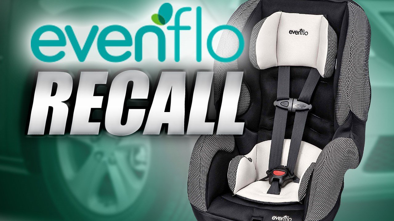 Evenflo recalls booster seats; children can loosen harness