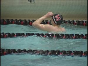 East's Danny Brebrick made podium in three events at the State Meet