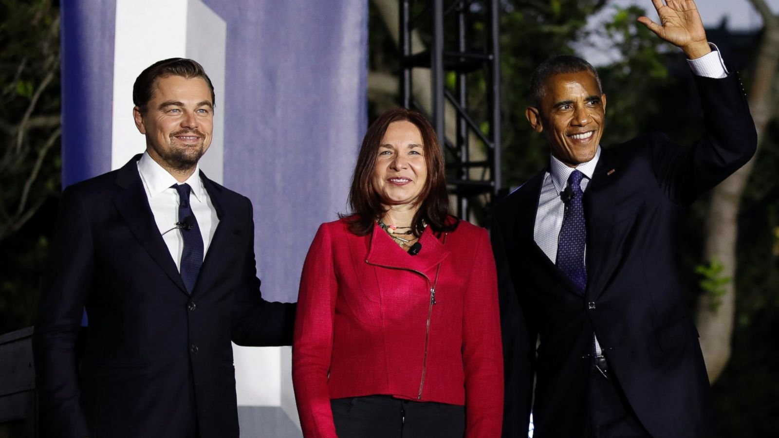 Obama and DiCaprio unit over climate change