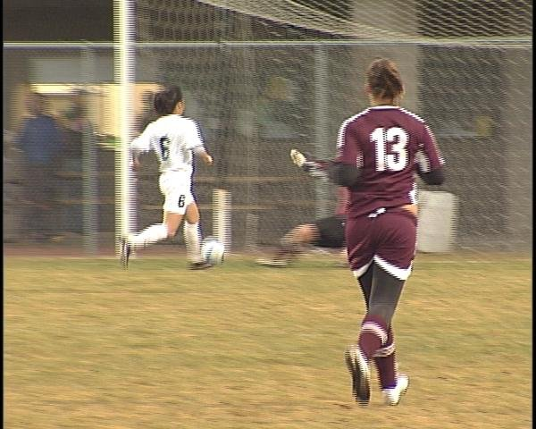 Bonnie Thao records a hat trick in the Evergreens' win over Antigo