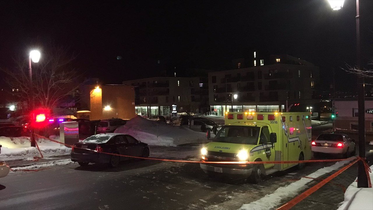 PHOTO: Multiple dead in shooting at Quebec City Mosque PHOTO: Multiple dead in shooting at Quebec City Mosque, Photo Date: 1/29/17