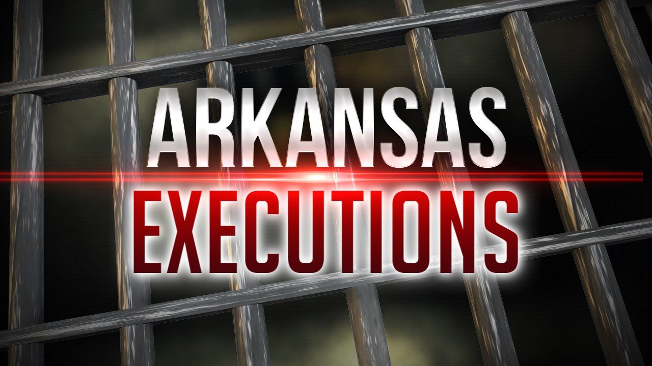 Arkansas prepares for 1st double execution in U.S. since 2000