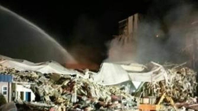 Explosion at corn milling plant rocks Wisconsin town