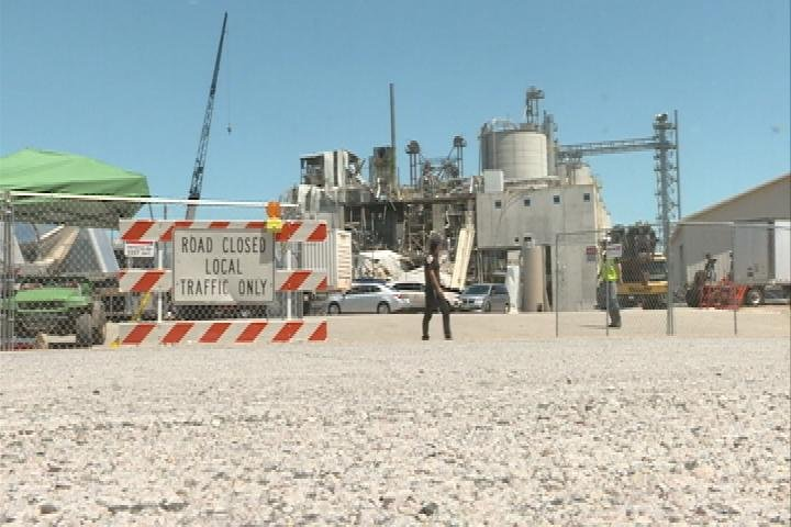 Some workers returning to mill complex where plant exploded