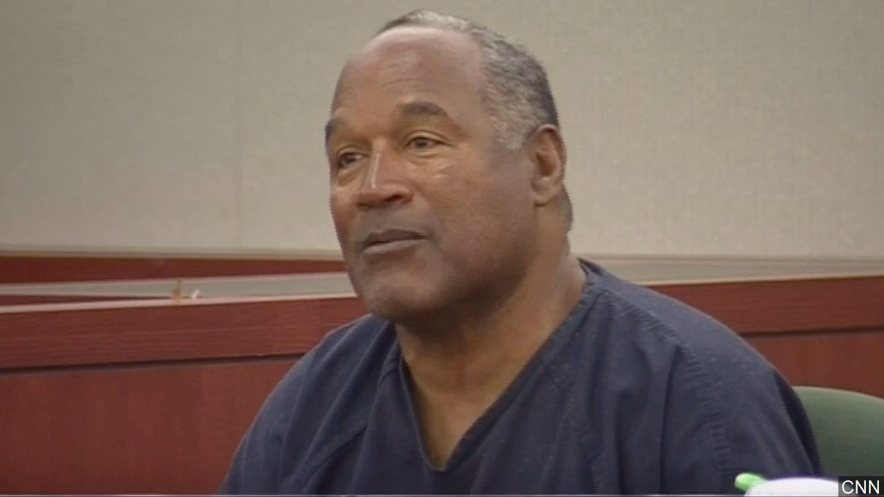 OJ Simpson granted parole and will walk out of prison in October