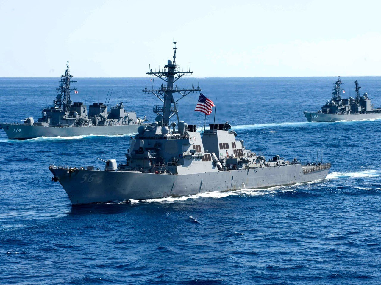 War ship collision fourth since January for U.S.  navy