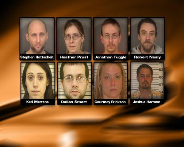 Eight arrested across 3 counties for meth charges - WAOW - Newsline 9