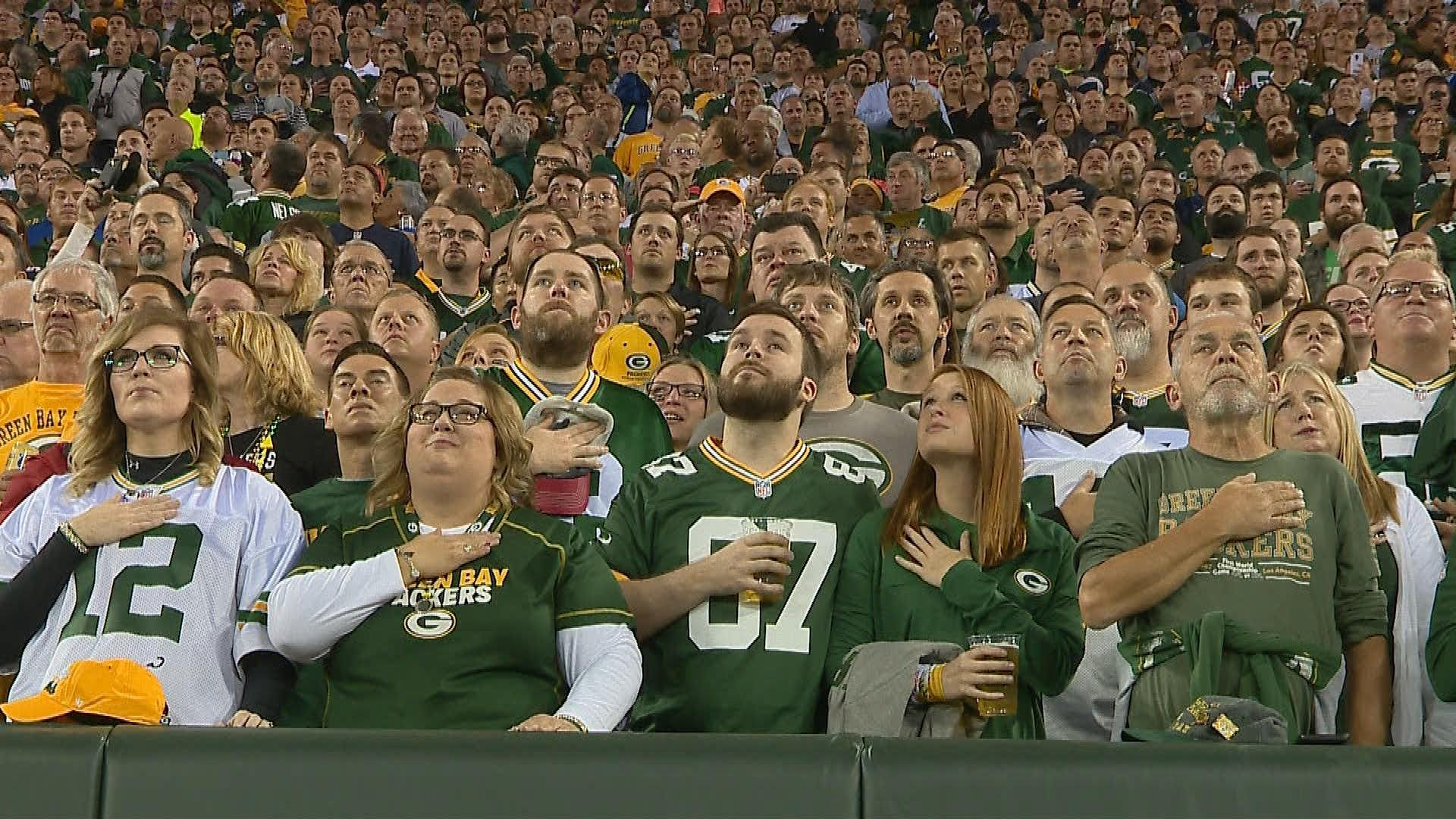 Locals react to planned protest during Packers game Thursday