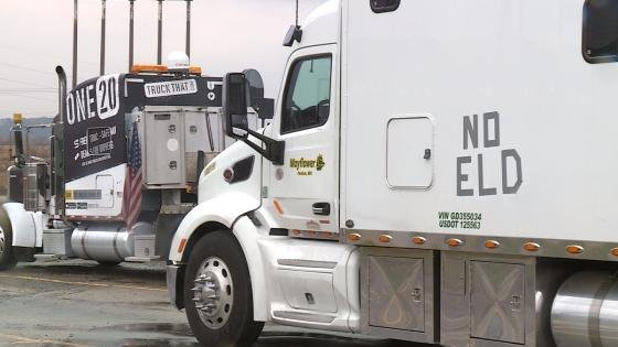 Kentucky truckers join nationwide protest of ELDs