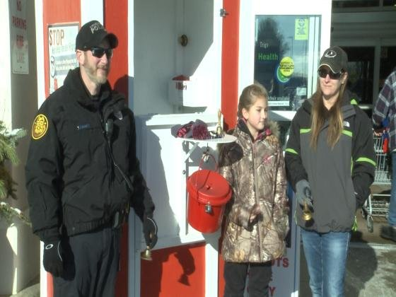 Your Town: Public Safety Red Kettle Campaign