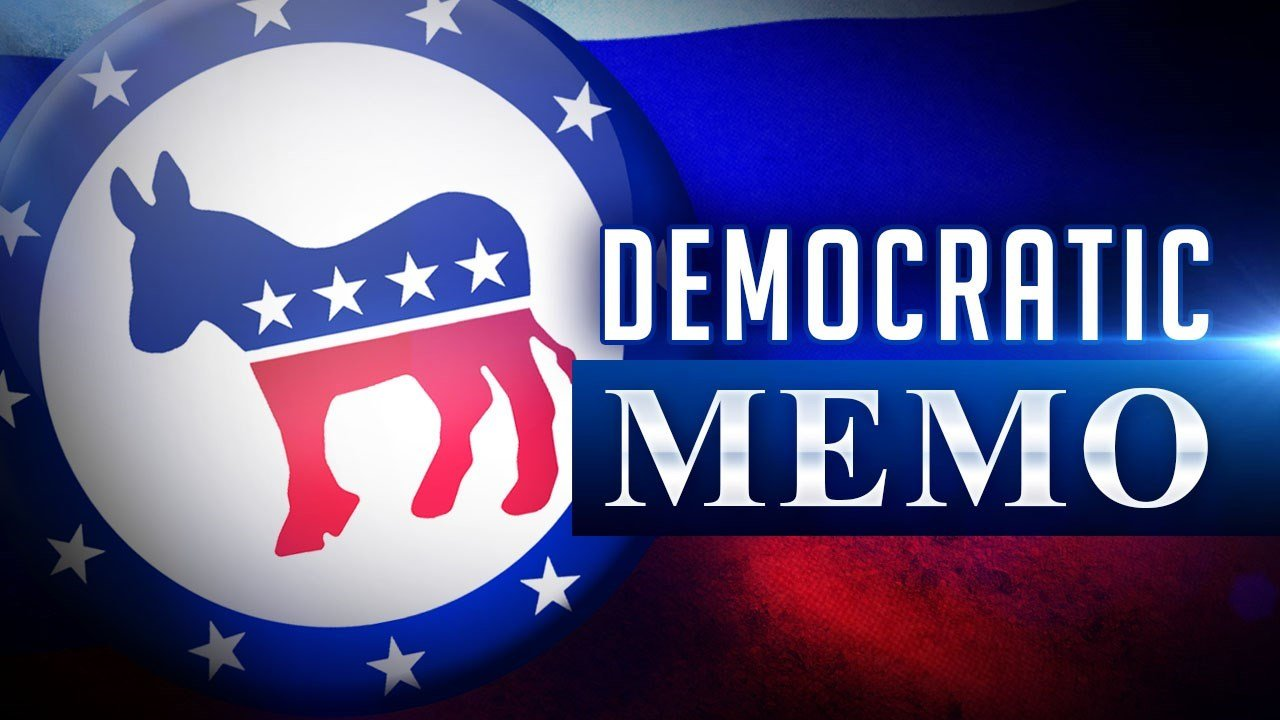 Trump blocks release of Democrats' memo