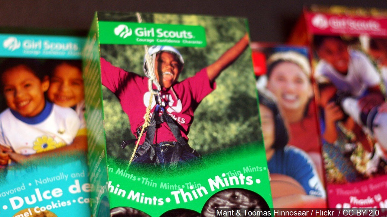 Dunkin' Donuts offering Girl Scout Cookie inspired coffee