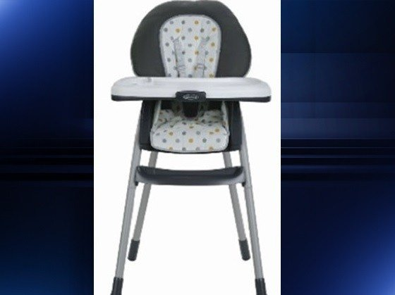 Graco issues massive recall for high chairs