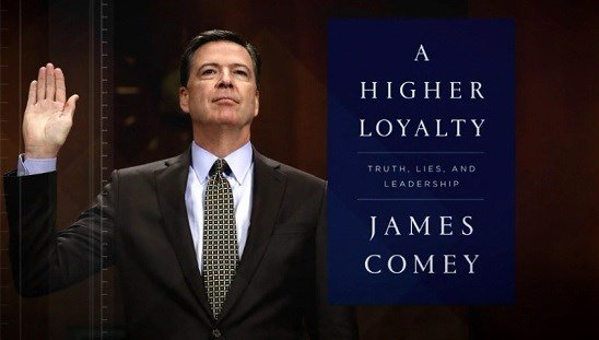 Comey compares president to a 'mob boss' in new book