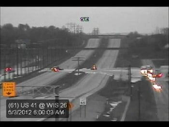 DOT Traffic cam shows flooding on US 41