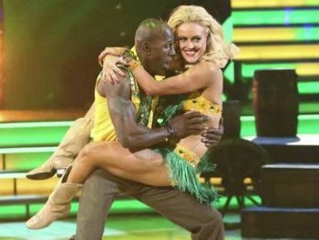 Donald Driver on DWTS Copyright © 2012 ABC, Inc.