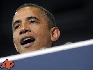 In this July 10, 2012 file photo, President Barack Obama speaks in Cedar Rapids, Iowa. (AP Photo/Susan Walsh, File)