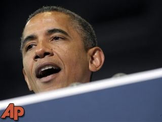 In this July 10, 2012 file photo, President Barack Obama speaks in Cedar Rapids, Iowa. (AP Photo/Susan Walsh, File)