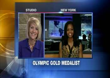 Gabby Douglas on Newsline 9