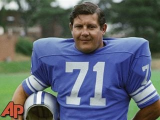 The Detroit Lions' Alex Karras in 1971. (AP Photo/File)