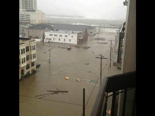 Hurricane Sandy: Flooding in Atlantic City