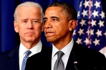 (AP Photo/Charles Dharapak). FILE - In this Jan. 16, 2013, file photo, President Barack Obama, accompanied by Vice President Joe Biden, talks about proposals to reduce gun violence at the White House in Washington.