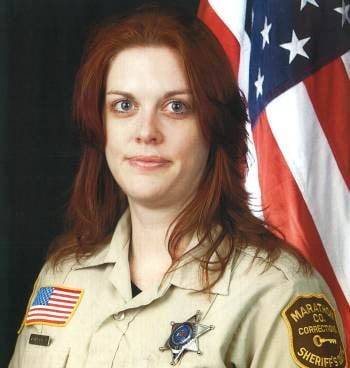 Corrections Officer Julie Christensen