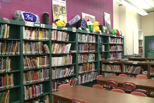 Mosinee Middle School  Library