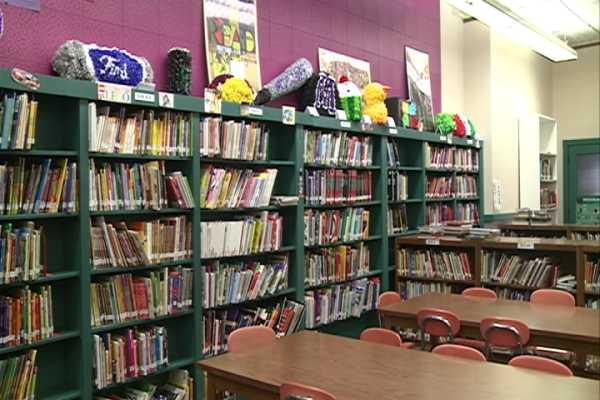 Mosinee Middle School  Library