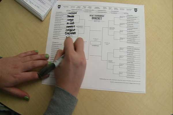 NCAA brackets and office pools