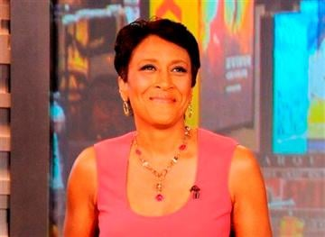 (AP Photo/ABC, Donna Svennevik, File). FILE - This Aug. 20, 2012 file photo released by ABC shows co-host Robin Roberts during a broadcast of