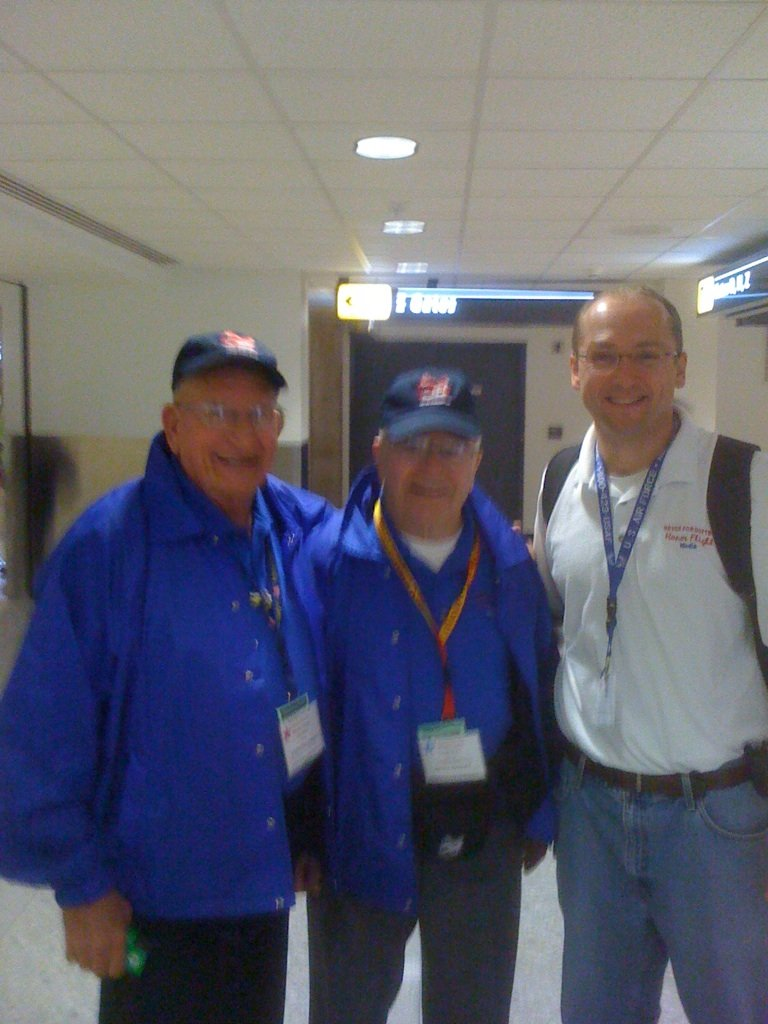 Louis Legner of Merrill, Russ Tauferner of Kronenwetter and Bryon Graff