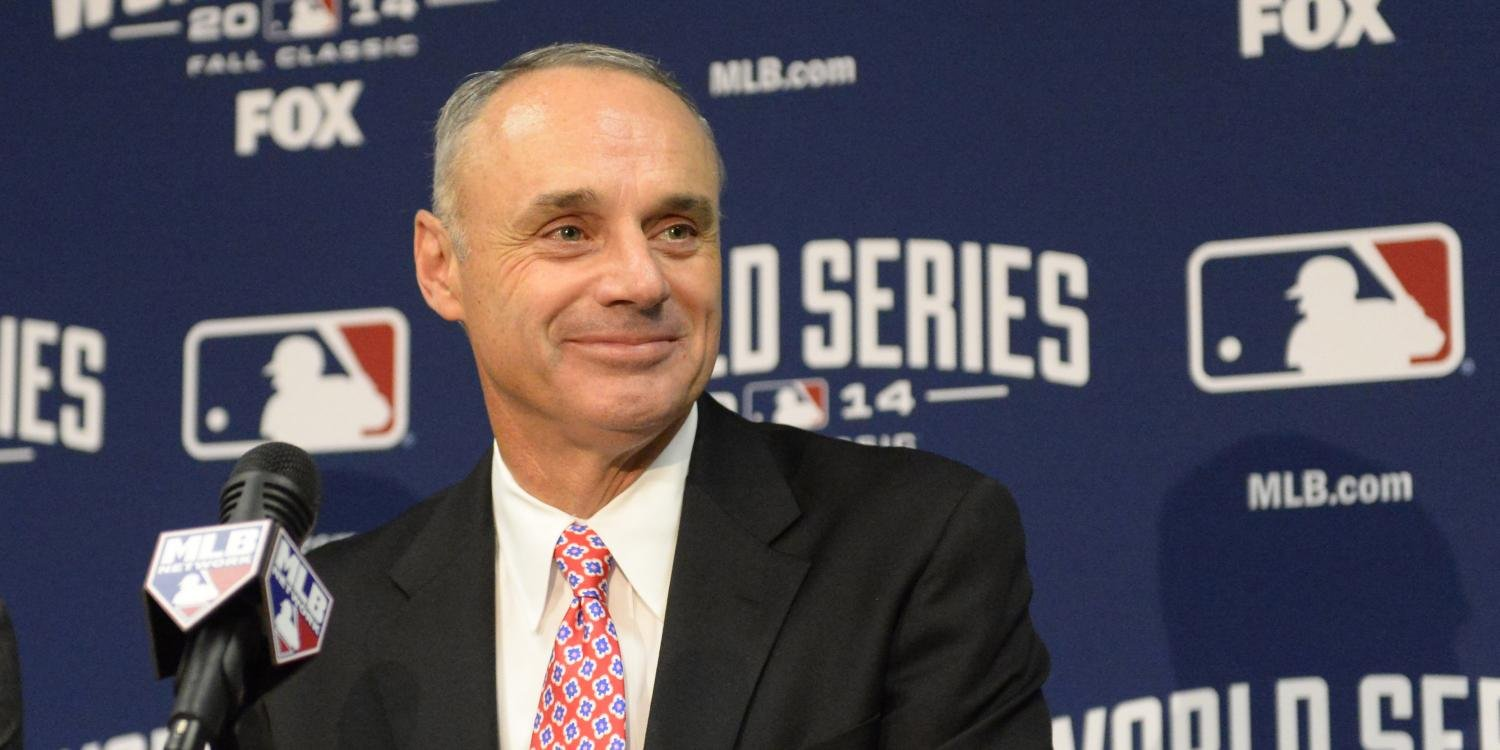 MLB Commissioner Rob Manfred. Photo courtesy of Sports Illustrated.
