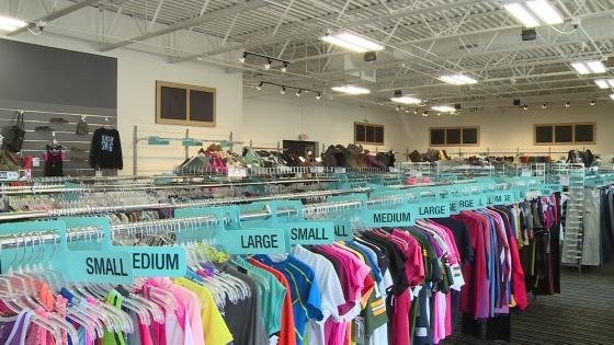 Used clothing stores madison wi
