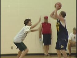 High school basketball players sharpen their skills at UWMC in the summer months.