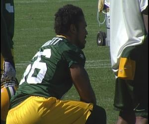 Nick Barnett and the Packers are pleased with the progress they've made during training camp