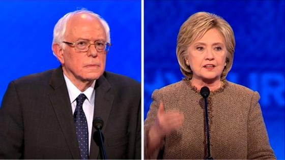 Sanders and Clinton debate tonight.