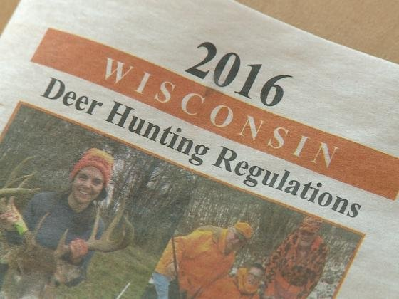 Harvest numbers license sales down from 2015 wkow 27 for Wisconsin fishing license