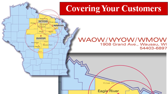Advertise With Us Coverage Map