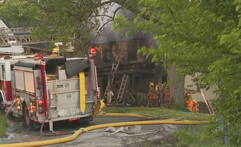 Neighbor charged in ohio fire that killed 5 kids 2 adults for Abc motors akron ohio