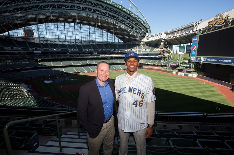 Brewers agree to deal with martinez 17 year old cuban for European motors cedar rapids