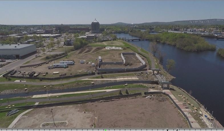 construction for river life village development hits a